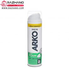 کف ریش آرکو مدل Arko Shaving Foam Anti Irritation حجم ۲۰۰ میل